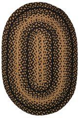 Braided Ebony Rug, 20x30