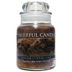 A Cheerful Candle CRUMB COFFEE CAKE 6OZ.