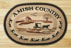 Amish Country 20x30 Oval Rug