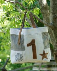 Star Canvas Tote Bag