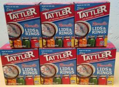 Item 20] TRIAL PACK BOXED E-Z SEAL LIDS/RINGS (3 DOZ EACH SIZE)***FREE SHIPPING WITHIN THE CONTIGUOUS USA***