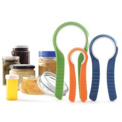 Item 51] SET OF 3 JAR OPENERS ***FREE SHIPPING WITHIN THE CONTIGUOUS USA***