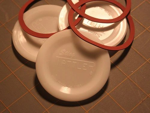 Item 17] 3 DOZEN BULK E-Z SEAL WIDE LIDS & RUBBER RINGS ***FREE SHIPPING WITHIN THE CONTIGUOUS USA***