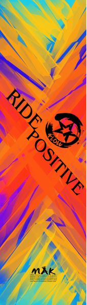 Ride Positive designed by (Annissa Flynn)