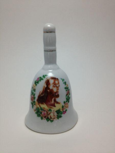 Porcelain Jesus Bell