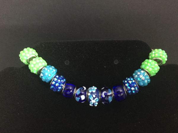 Multi-Color Beaded Bracelet