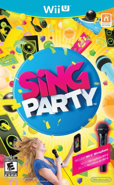 Wii U SiNG Party