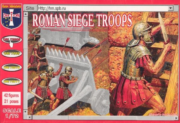 1/72 Roman Siege Troops (42) - Orion 72008