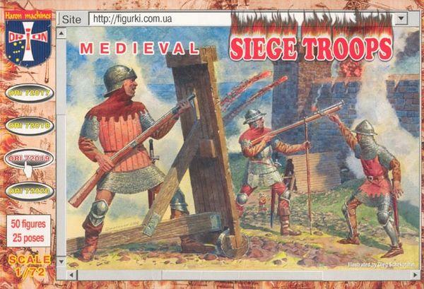 1/72 Medieval Siege Troops (50) - Orion 72019