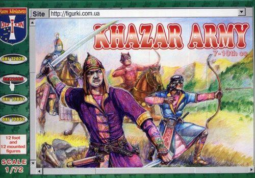 1/72 Khazars Army VII-X Century (12 Mtd & 12 Foot) - Orion 72030