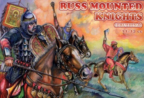 1/72 Russ Knights XI-XIII Century (12 Mtd) - Orion 72033