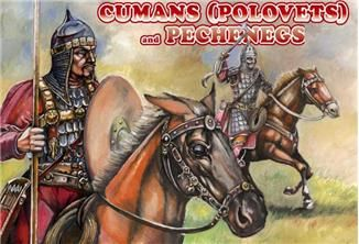 1/72 Cumans (Polovets) & Pechenegs (12 Mtd) - Orion 72034