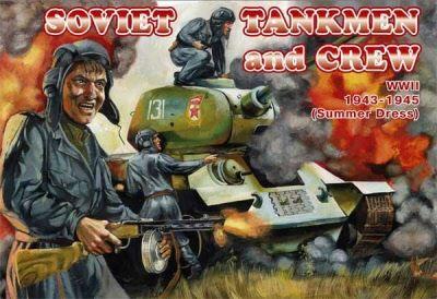 1/72 Soviet Tankmen & Crew Summer Dress 1943-45 (39) - Orion 72036