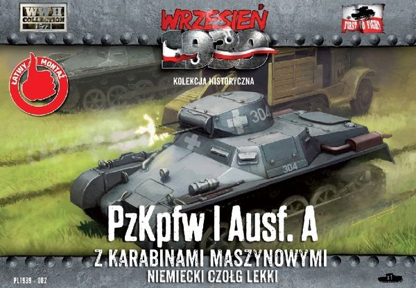 1/72 Pz.Kpfw.I Ausf.A German Light Tank - First to Fight 002