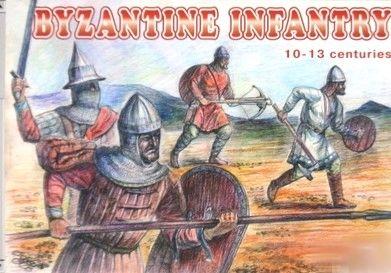 1/72 Byzantine Infantry X-XIII Century (48) - Orion 72044