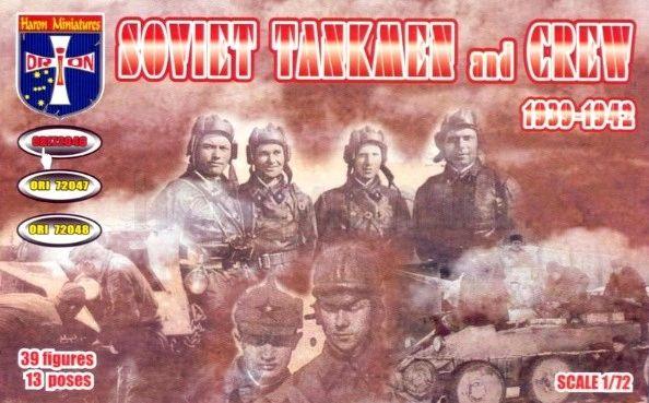 1/72 Soviet Tankmen & Crew 1939-42 (39) - Orion 72046