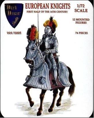 1/72 Dark Dream Studio: European Knights 1st Half XVI Century (12 Mtd) - Orion DDS72005