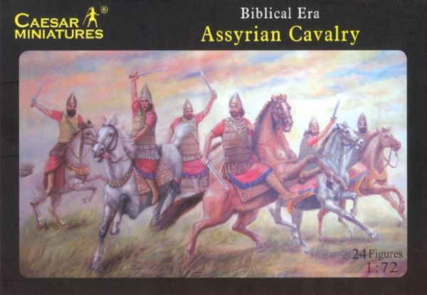 1/72 Biblical Era Assyrian Cavalry (12 Mtd) - Caesar 10
