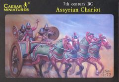 1/72 7th Century BC Assyrian (8) w/2 Chariots & 8 Horses - Caesar 11