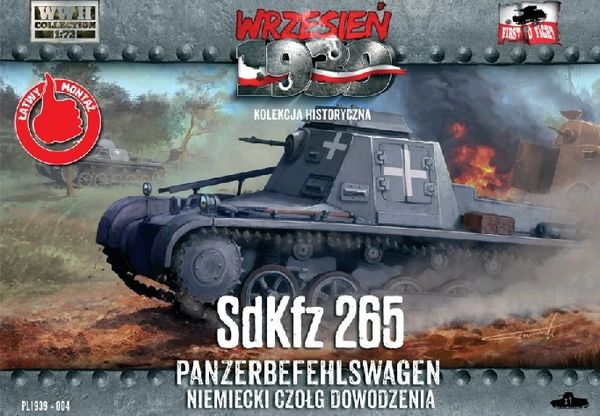 1/72 Sd.Kfz.265 Panzerbefehlswagen German Command Tank - First to Fight 004