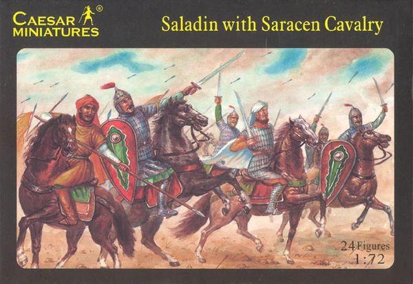 1/72 Saladin w/Saracen Cavalry (24) - Caesar 18