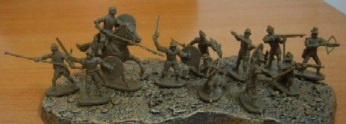 1/72 Conquistadores (35 Figs, 4 Horses) - Caesar 25