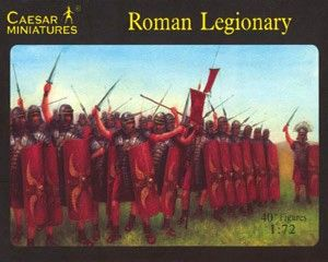 1/72 Roman Legionary (41) - Caesar 41