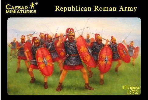 1/72 Republican Roman Army (41) - Caesar 45