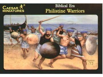 1/72 Biblical Era Philistine Warriors (42) - Caesar 46