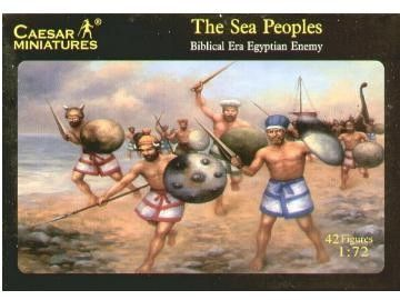 1/72 Biblical Era Egyptian Enemy Sea Peoples (42) - Caesar 48