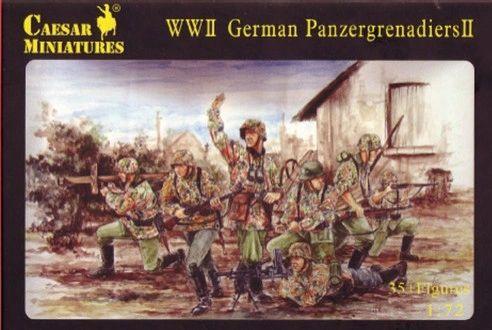1/72 WWII German Panzergrenadiers II (36) - Caesar 53