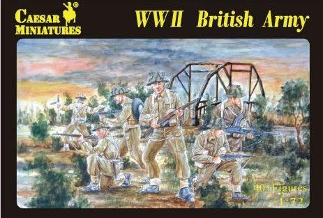 1/72 WWII British Army (40) - Caesar 55