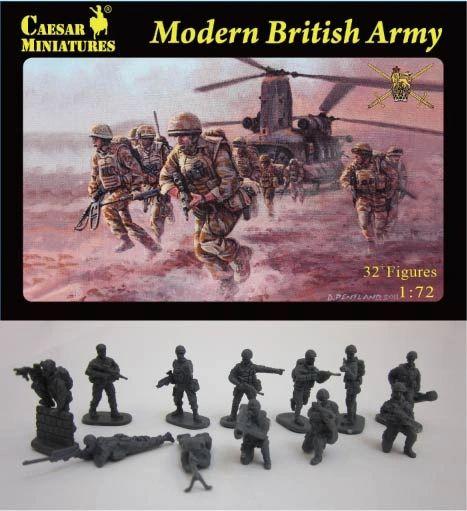 1/72 Modern British Army (33) - Caesar 60