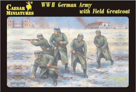 1/72 WWII German Army w/Field Greatcoat (34) - Caesar 69