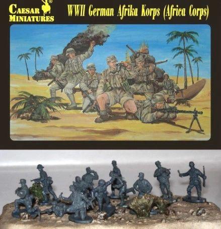 1/72 WWII German Afrika Korps (32) - Caesar 70