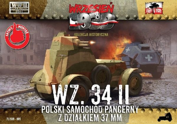1/72 Wz.34/II Polish Armored Car - First to Fight 009