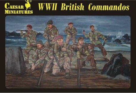 1/72 WWII British Commandos (27) - Caesar 73
