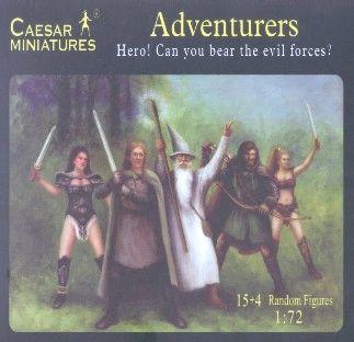 1/72 Fantasy Heroic Adventurers (15+) - Caesar 104