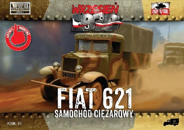 1/72 Polish Fiat 621 Truck - First to Fight 011