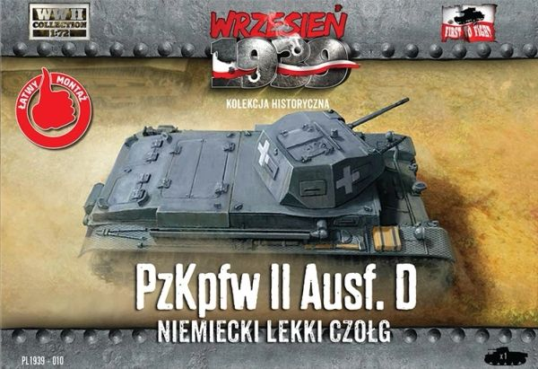 1/72 Pz.Kpfw.II Ausf.D German Light Tank - First to Fight 012