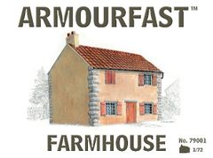 1/72 2-Story Farm House - Armourfast 79001