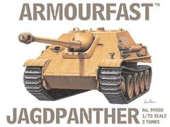 1/72 Jagdpanzer V Jagdpanther Tank Destroyer (2) - Armourfast 99002