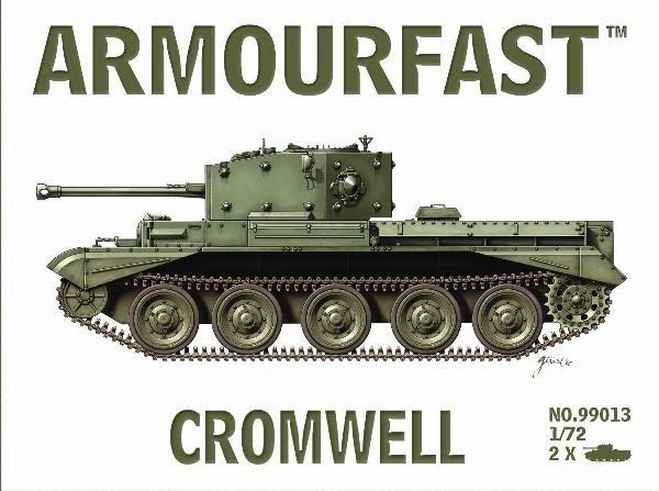 1/72 Cruiser Mk VIII Cromwell Tank (2) - Armourfast 99013