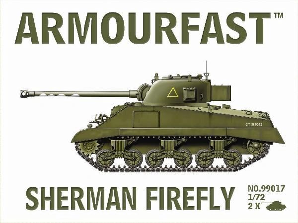 1/72 Sherman Firefly Tank (2) - Armourfast 99017