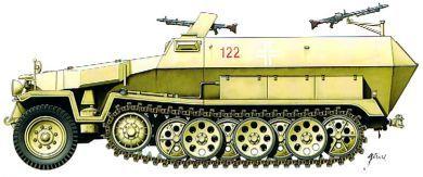 1/72 German Sd.Kfz.251/1 (2) - Armourfast 99019