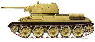 1/72 T-34/76 Mod. 1943 Tank (2) - Armourfast 99022