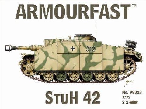 1/72 StuH 42 Assault Gun (2) - Armourfast 99023