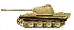 1/72 Pz.Kpfw. V Panther Ausf.G Tank (2) - Armourfast 99024