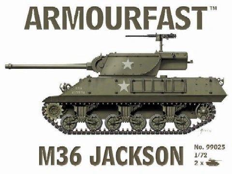 1/72 M36 Jackson Tank Destroyer (2) - Armourfast 99025
