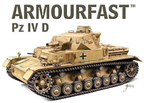 1/72 Pz.Kpfw. IV Ausf.D Tank (2) - Armourfast 99028